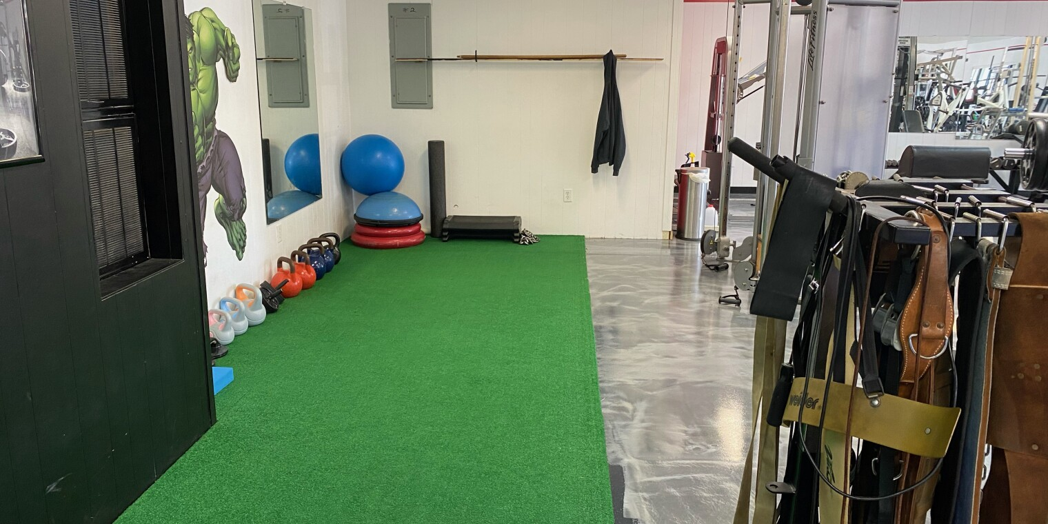 Turf Area to the Side of the Gym