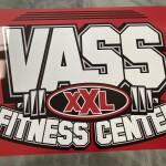 New Embedded Vass Fitness Center Logo